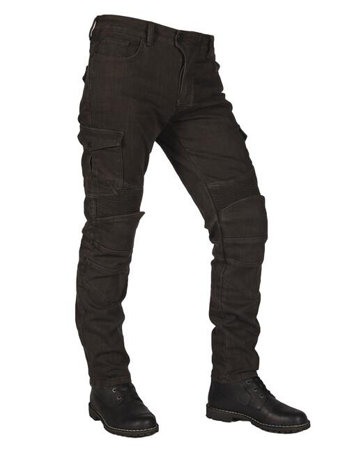 The Biker Jeans - Army Khaki Adventure Flexi V3 Korumalı Motosiklet Kot Pantolonu