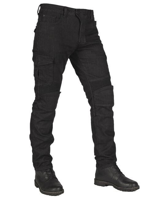 The Biker Jeans - Black Adventure Flexi V3 Korumalı Motosiklet Kot Pantolonu