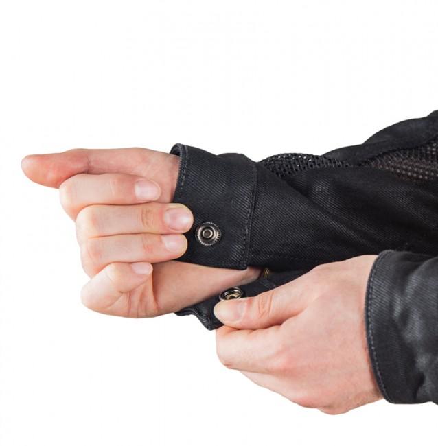 Black Ice Korumalı File Motosiklet Kot Montu - Thumbnail