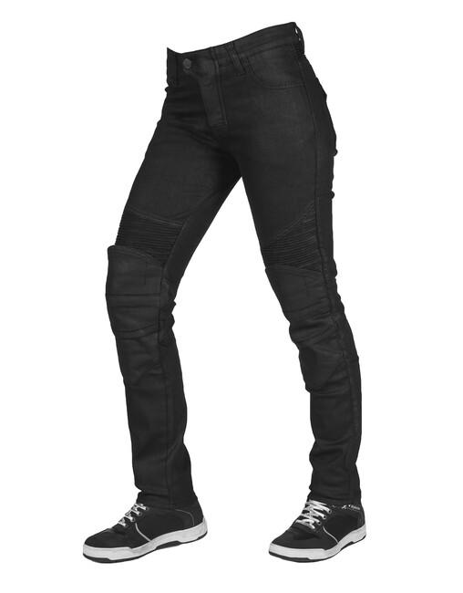Black Iron Flexi Korumalı Motosiklet Kot Pantolonu - Thumbnail