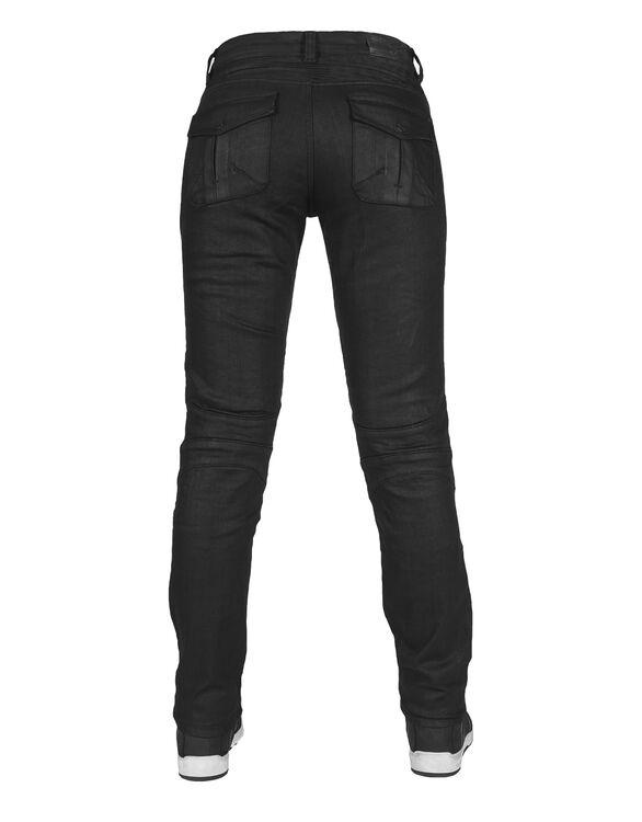 Black Iron Flexi Korumalı Motosiklet Kot Pantolonu