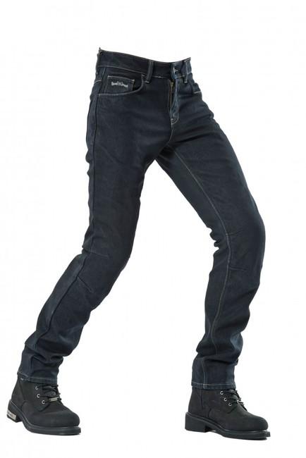 The Biker Jeans - Büyük Beden Korumalı Motosiklet Kot Pantolonu City Biker Cold Killer