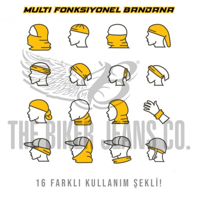 Multi Fonksiyonel Bandana Type 5 - Thumbnail