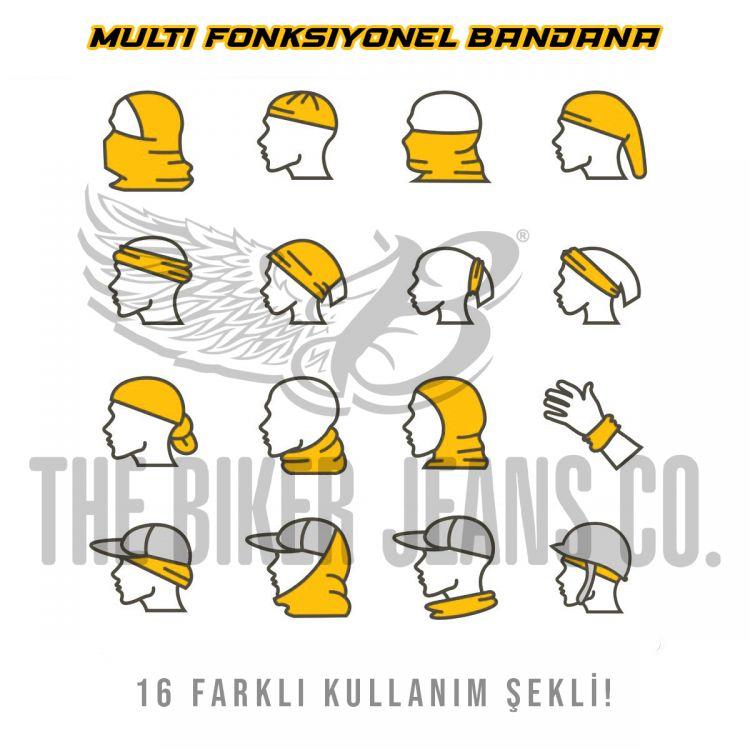 Multi Fonksiyonel Bandana Type 7
