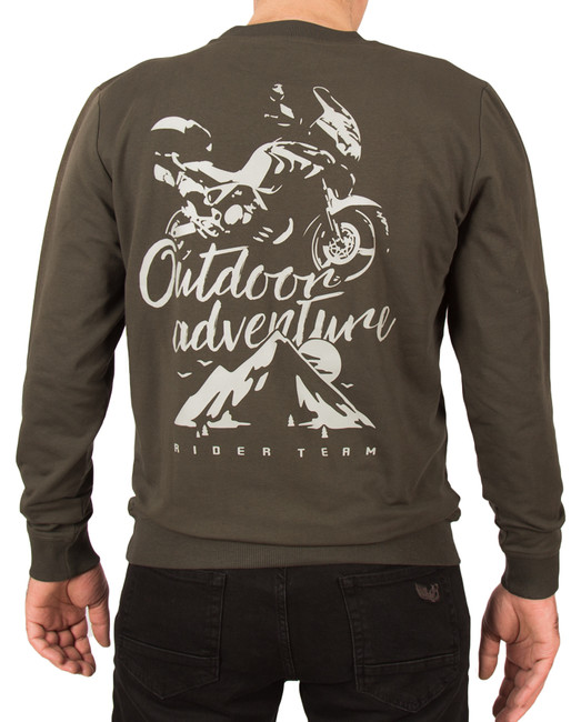 The Biker Jeans - Outdoor Adventure Sweatshirt