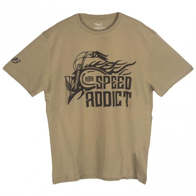 The Biker Jeans - Speed Addict Haki T-Shirt