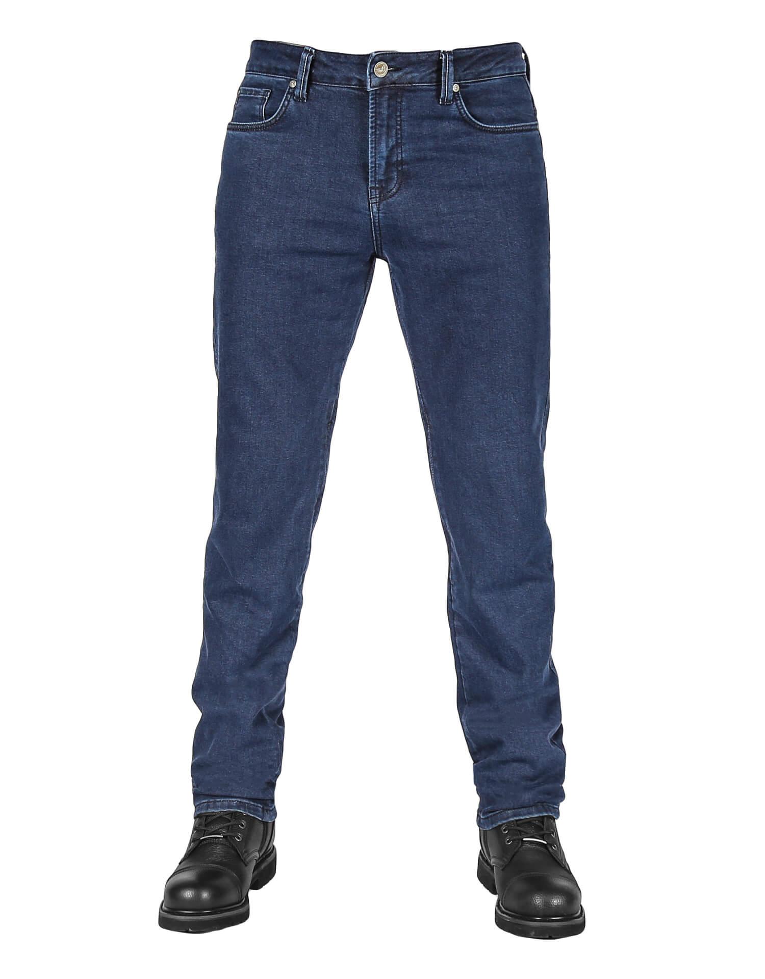 Urbanizer Dark Blue Cordura® Korumalı Motosiklet Kot Pantolonu