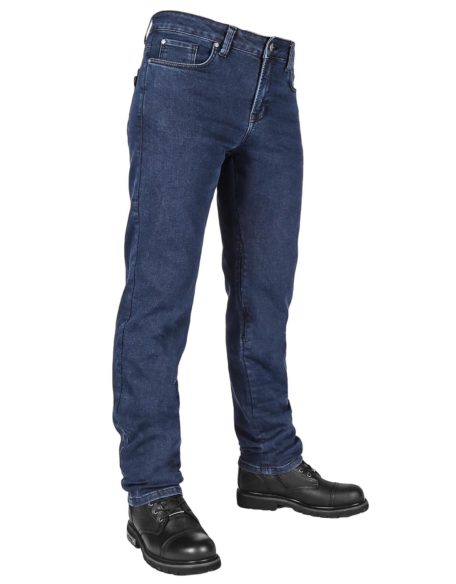The Biker Jeans - Urbanizer Dark Blue Cordura® Korumalı Motosiklet Kot Pantolonu