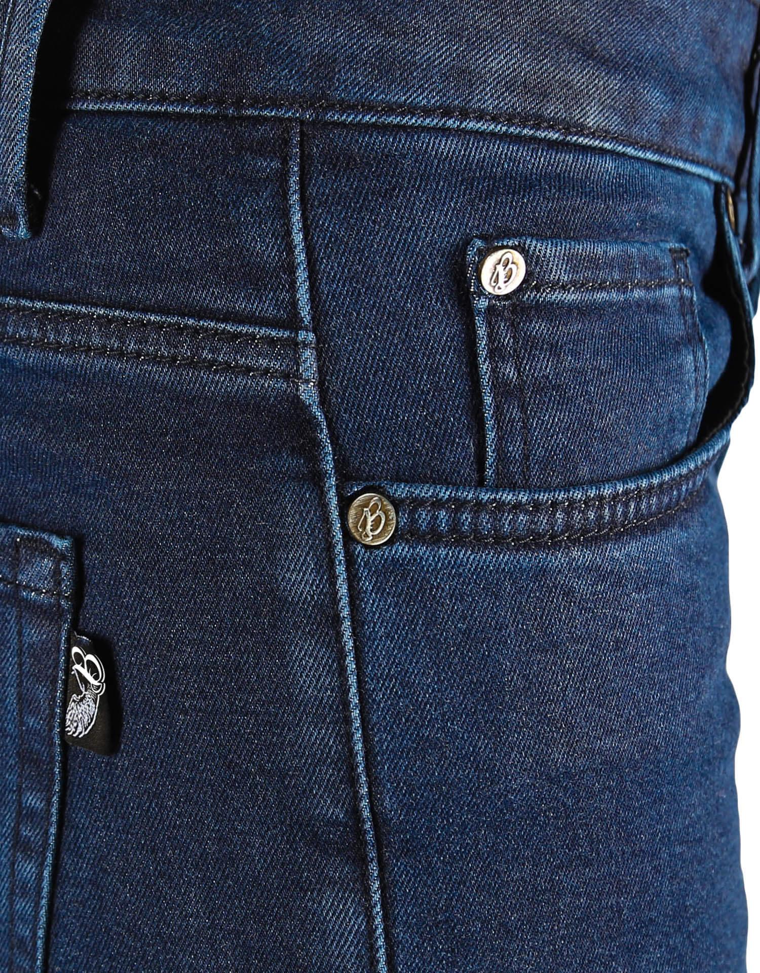 Urbanizer Dark Blue Cordura® Korumalı Motosiklet Kot Pantolonu - Thumbnail